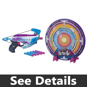 Nerf Rebelle Star Shot Targeting Set Review