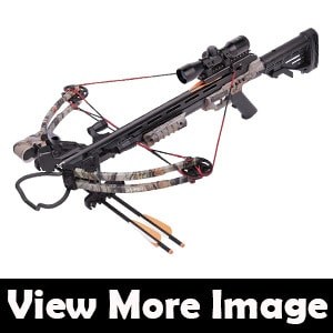 CenterPoint Sniper 370 - Camo Crossbow Package Review