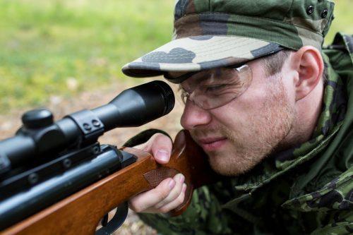 breaking in rifle barrel