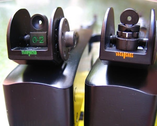 Ruger 10 22 target iron sights